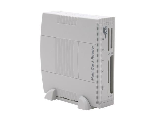 SYBA SD-U2CR-DUO 20-in-1 USB 2.0 3.5