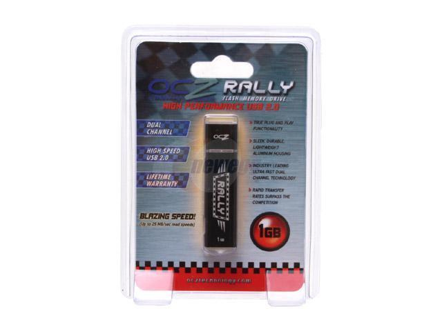 OCZ Rally High Performance 1GB Dual Channel Flash Drive (USB2.0 Portable)