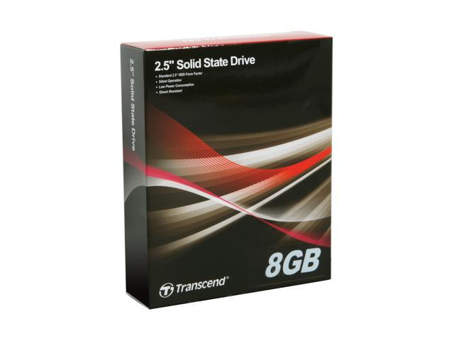 Transcend 8GB Industrial Solid State Disk TS8GSSD25-S