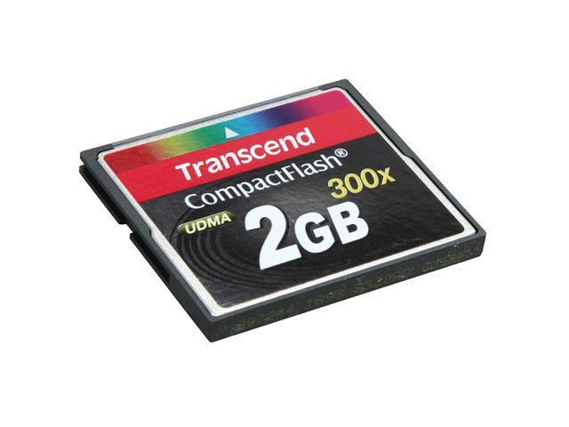 Transcend 2GB Compact Flash (CF) Flash Card Model TS2GCF300