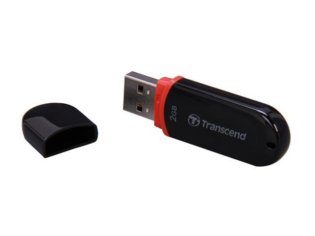 Transcend JetFlash 300 2GB USB 2.0 Flash Drive Model TS2GJF300