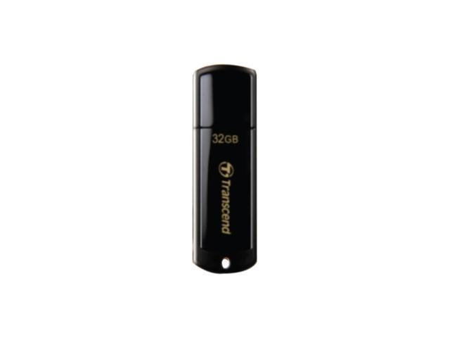 Transcend JetFlash 350 32 GB USB 2.0 Flash Drive - Black