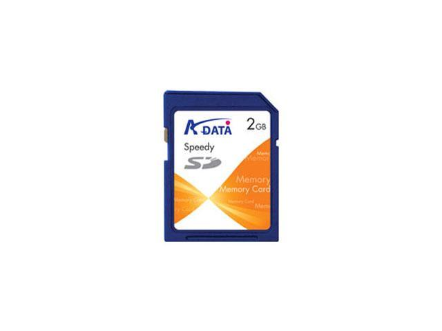 ADATA Speedy 2GB Secure Digital (SD) Flash Card Model SD 2G