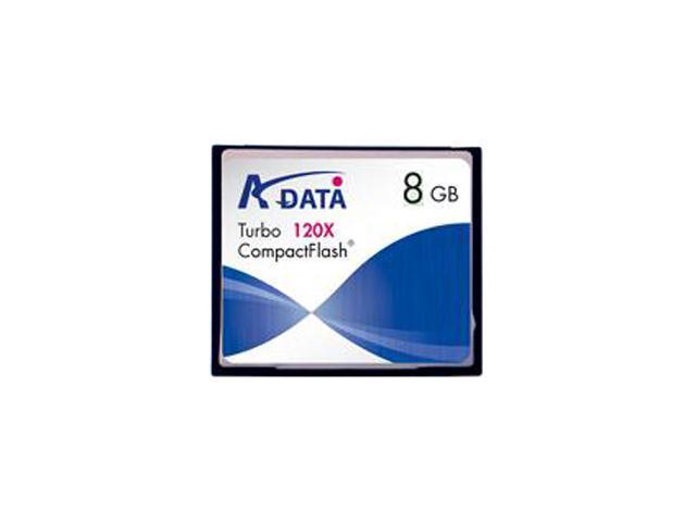 ADATA 8GB Compact Flash (CF) Flash Card Model 120x 8G