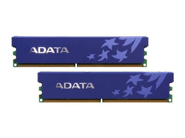 ADATA 4GB (2 x 2GB) 240-Pin DDR2 SDRAM DDR2 800 (PC2 6400) Dual Channel Kit Desktop Memory Model AD2U800B2G5-DRH