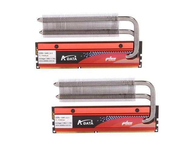 ADATA XPG 4GB (2 x 2GB) 240-Pin DDR3 SDRAM DDR3 2200 (PC3 17600) Desktop Memory Model AX3U2200PB2G8-DP2