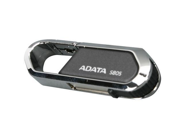 ADATA Nobility 16GB USB 2.0 Flash Drive (Gray) Model AS805-16G-CGY