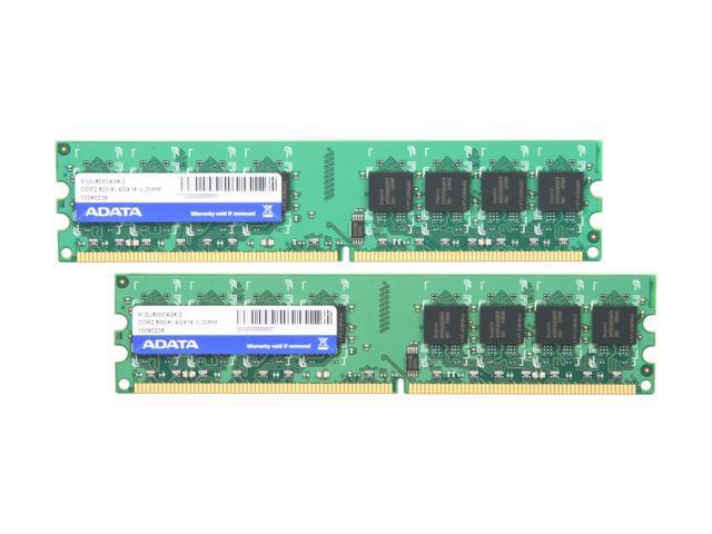 ADATA Supreme Series 8GB (2 x 4GB) 240-Pin DDR2 SDRAM DDR2 800 (PC2 6400) Desktop Memory Model SU2U800C4G6-2