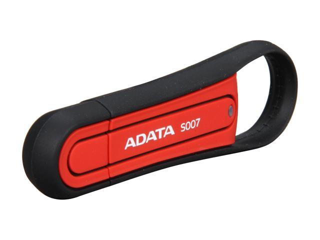 ADATA S007 Military-Specification 32GB USB 2.0 Flash Drive (Red) Model AS007-32G-RRD