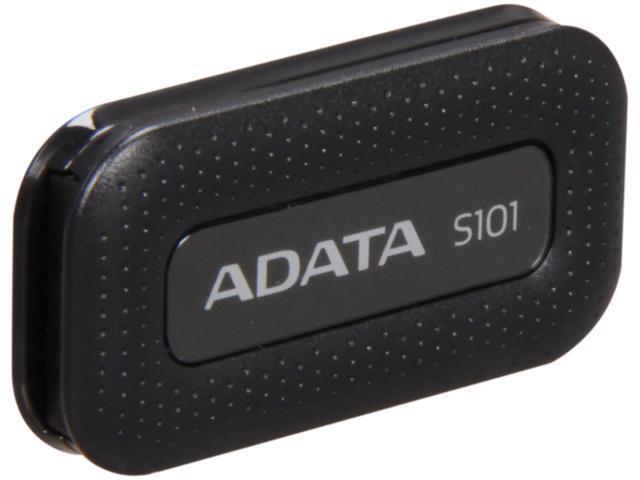 ADATA S101 8GB USB 2.0 Flash Drive (Black)