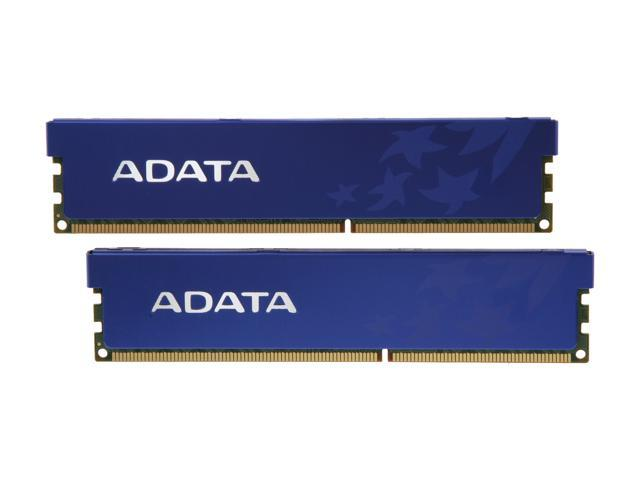 ADATA Premier Series 8GB (2 x 4GB) 240-Pin DDR3 SDRAM DDR3 1333 (PC3 10666) Desktop Memory Model AD3U1333C4G9-DRH