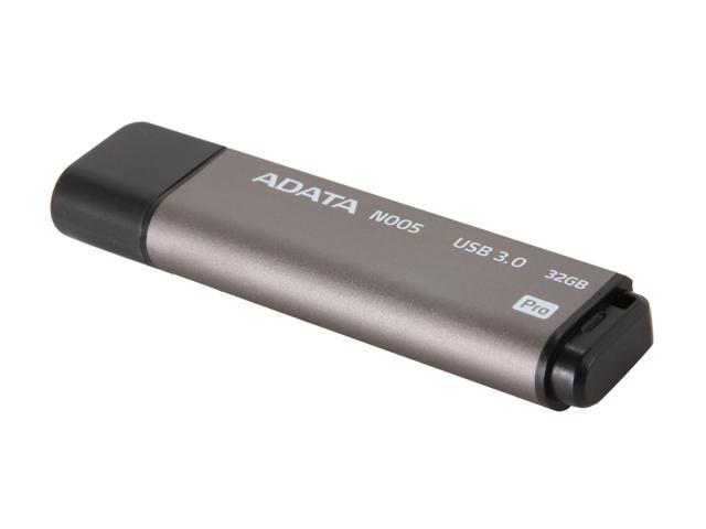 ADATA N005 Pro 32GB USB 3.0 Flash Drive (Gray)