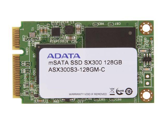 ADATA XPG SX300 128GB Mini-SATA (mSATA) MLC Internal Solid State Drive (SSD) ASX300S3-128GM-C