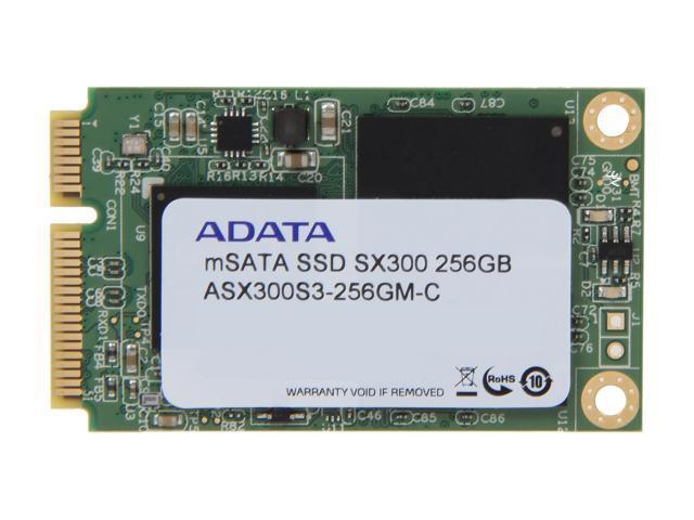 ADATA XPG SX300 256GB Mini-SATA (mSATA) MLC Internal Solid State Drive (SSD) ASX300S3-256GM-C