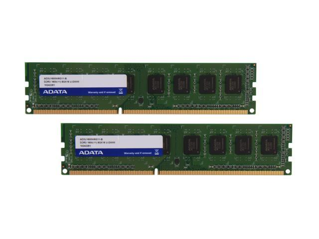 ADATA Premier Series 16GB (2 x 8GB) 240-Pin DDR3 SDRAM DDR3 1600 (PC3 12800) Desktop Memory Model AD3U1600W8G11-2