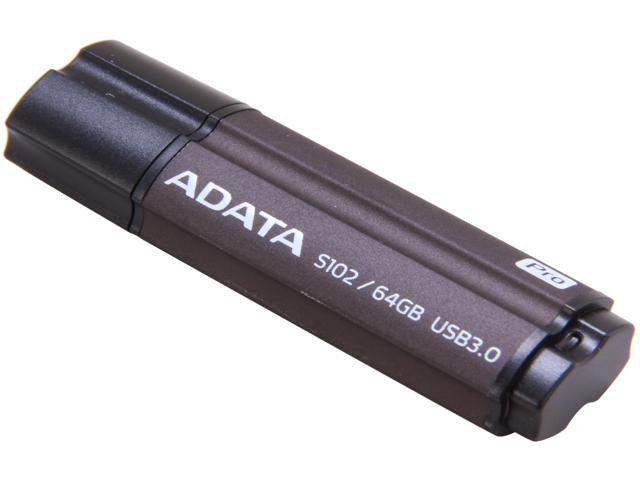 ADATA S102 Pro 64GB Advanced USB 3.0 Flash Drive Model AS102P-64G-RGY