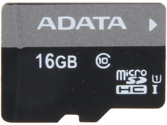 ADATA Premier 16GB microSDHC UHS-I CLASS 10 Flash Card