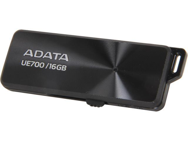 ADATA DashDrive Elite UE700 16GB USB 3.0 Flash Drive Model AUE700-16G-CBK