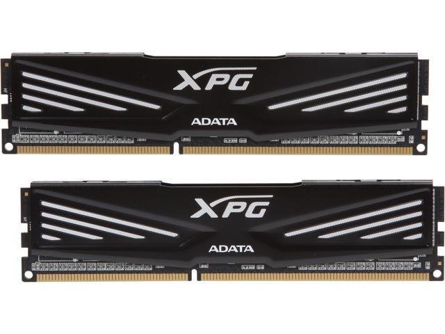 ADATA XPG V1.0 8GB (2 x 4GB) 240-Pin DDR3 SDRAM DDR3 1600 (PC3 12800) Desktop Memory Model AX3U1600W4G9-DB