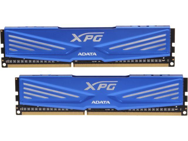 ADATA XPG V1.0 8GB (2 x 4GB) 240-Pin DDR3 SDRAM DDR3 1600 (PC3 12800) Desktop Memory Model AX3U1600W4G11-DD