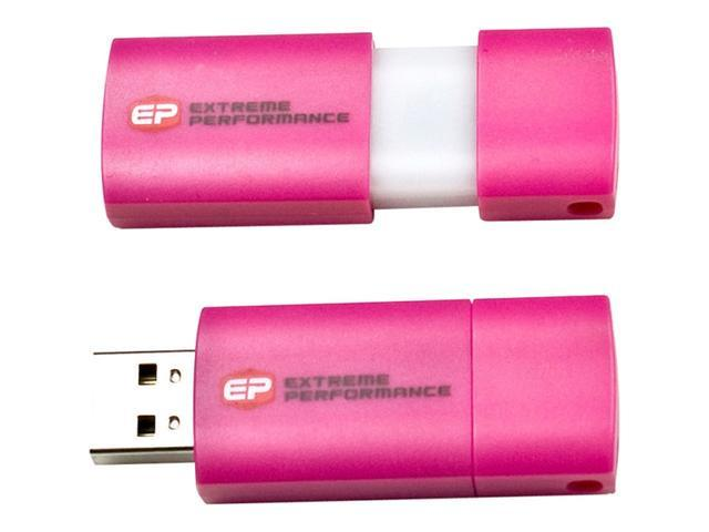 EP Memory EPCLP/8GB-2.0 8 GB USB 2.0 Flash Drive - Pink