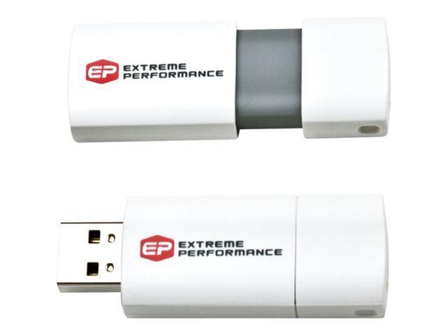 EP Memory EPCLW/4GB-2.0 4 GB USB 2.0 Flash Drive - White