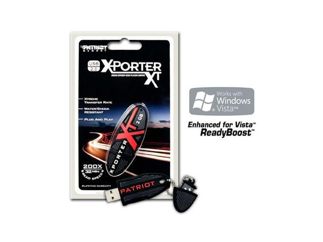 Patriot Extreme Performance 2GB Flash Drive (USB2.0 Portable)