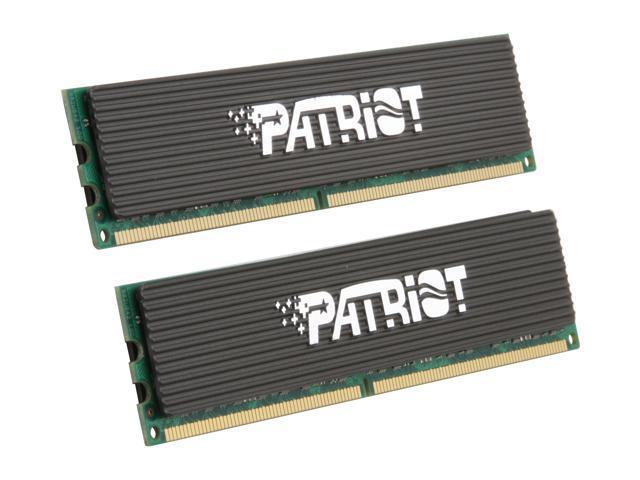 Patriot Extreme Performance 2GB (2 x 1GB) 240-Pin DDR2 SDRAM DDR2 1200 (PC2 9600) Dual Channel Kit Desktop Memory Model PDC22G9600ELK