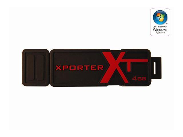 Patriot Xporter XT Boost 4GB Flash Drive (USB2.0 Portable) Model PEF4GUSB