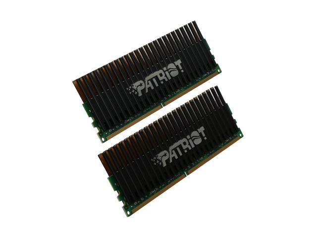 Patriot Viper 4GB (2 x 2GB) 240-Pin DDR2 SDRAM DDR2 800 (PC2 6400) Dual Channel Kit Desktop Memory Model PVS24G6400LLK