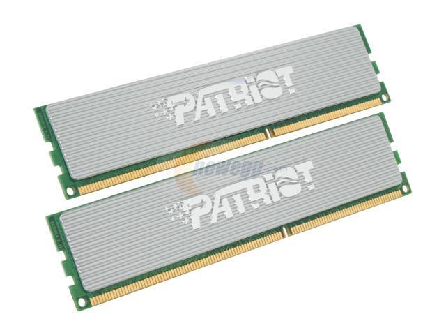 Patriot Extreme Performance 2GB (2 x 1GB) 240-Pin DDR3 SDRAM DDR3 1333 (PC3 10666) Dual Channel Kit Desktop Memory Model PDC32G1333ELK