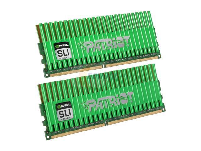 Patriot Viper 4GB (2 x 2GB) 240-Pin DDR2 SDRAM DDR2 1066 (PC2 8500) Desktop Memory Model PVS24G8500ELKNB