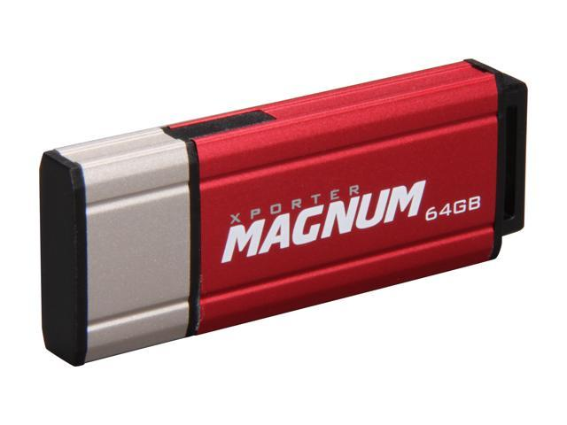 Patriot Xporter Magnum 64GB Flash Drive (USB2.0 Portable) Model PEF64GMNUSB
