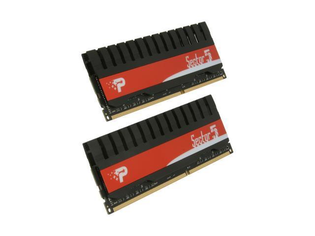 Patriot Viper II Sector 5 4GB (2 x 2GB) 240-Pin DDR3 SDRAM DDR3 1333 (PC3 10666) Desktop Memory Model PVV34G1333LLK