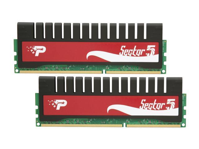 Patriot G Series 'Sector 5' 4GB (2 x 2GB) 240-Pin DDR3 SDRAM DDR3 2000 (PC3 16000) Desktop Memory Model PGV34G2000ELK
