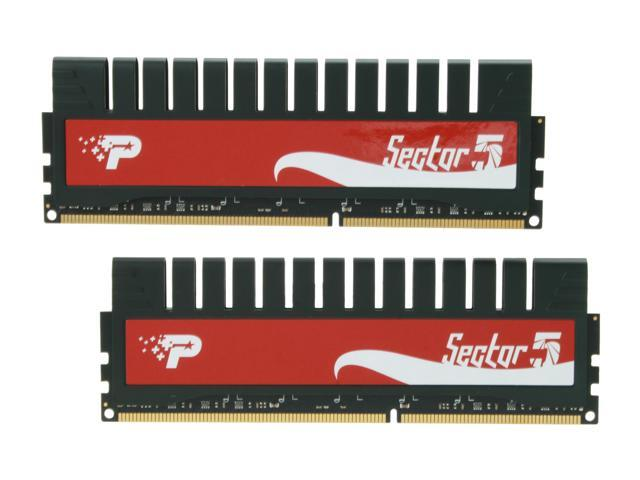 Patriot G Series 'Sector 5' Edition 8GB (2 x 4GB) 240-Pin DDR3 SDRAM DDR3 1333 (PC3 10666) Desktop Memory Model PGV38G1333ELK