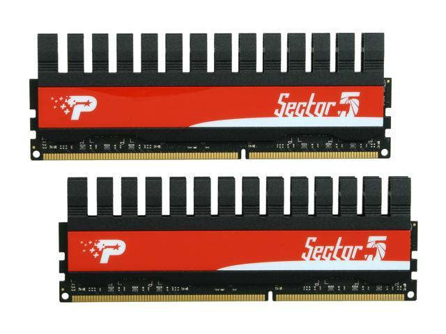 Patriot Viper II 'Sector 5' Edition 4GB (2 x 2GB) 240-Pin DDR3 SDRAM DDR3 2400 (PC3 19200) Desktop Memory Model PVV34G2400C9K