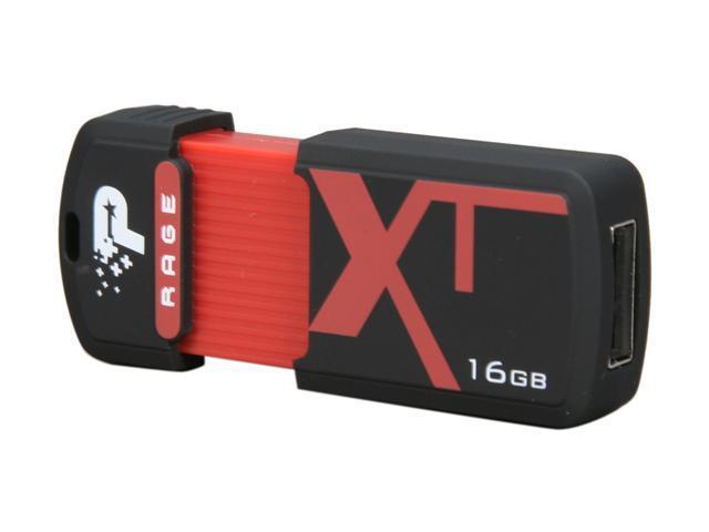 Patriot Xporter XT Rage 16GB USB 2.0 Flash Drive Model PEF16GRUSB