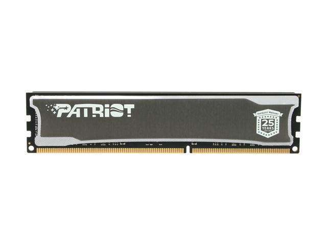Patriot 4GB 240-Pin DDR3 SDRAM DDR3 1600 (PC3 12800) Desktop Memory Model PSD34G16002H