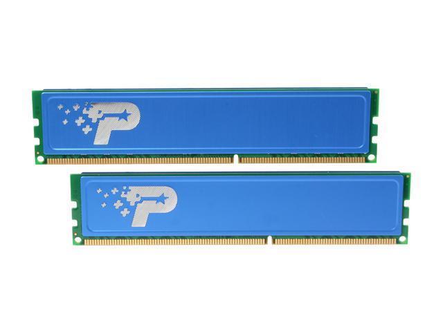 Patriot Signature Line 8GB (2 x 4GB) 240-Pin DDR3 SDRAM DDR3 1600 (PC3 12800) Desktop Memory Model PSD38G1600KH
