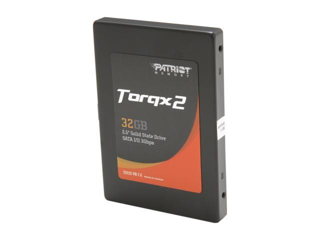 "Patriot Torqx 2 2.5"" 32GB SATA II Internal Solid State Drive (SSD) PT232GS25SSDR"