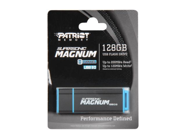 Patriot Supersonic Magnum 128GB USB 3.0 Flash Drive Model PEF128GSMNUSB