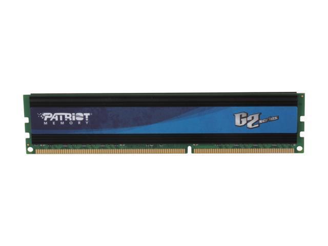 Patriot Gamer 2 Series 8GB 240-Pin DDR3 SDRAM DDR3 1333 (PC3 10666) Desktop Memory Model PG38G1333EL
