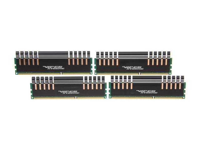 Patriot Viper Xtreme Division 4 16GB (4 x 4GB) 240-Pin DDR3 SDRAM DDR3 1600 (PC3 12800) Desktop Memory Model PXQ316G1600LLQK