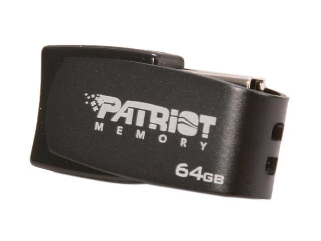 Patriot Axle 64GB USB 2.0 Flash Drive (Gray) Model PSF64GAUSBG