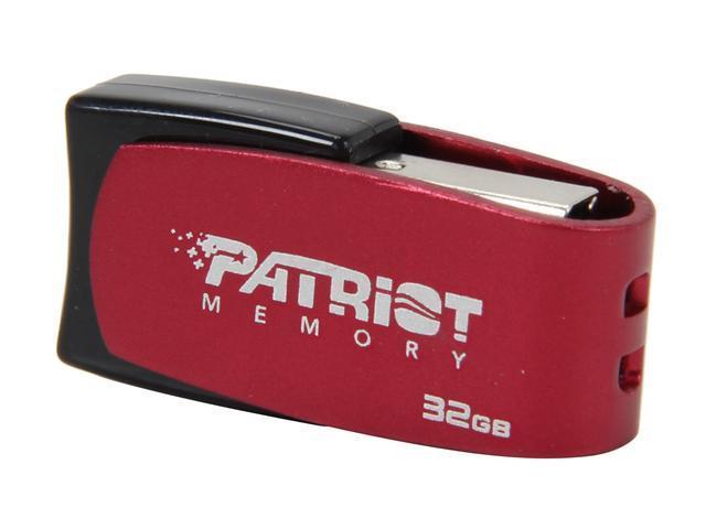 Patriot Axle 32GB USB 2.0 Flash Drive (Red)