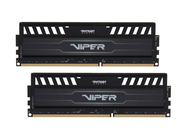 Patriot Viper 3 8GB (2 x 4GB) 240-Pin DDR3 SDRAM DDR3 1866 (PC3 15000) Desktop Memory Model PV38G186C9K