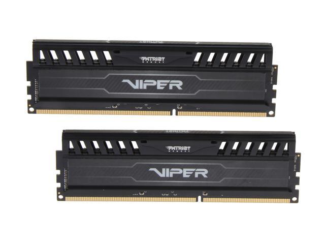 Patriot Viper 3 16GB (2 x 8GB) 240-Pin DDR3 SDRAM DDR3 2133 (PC3 17000) Desktop Memory Model PV316G213C1K