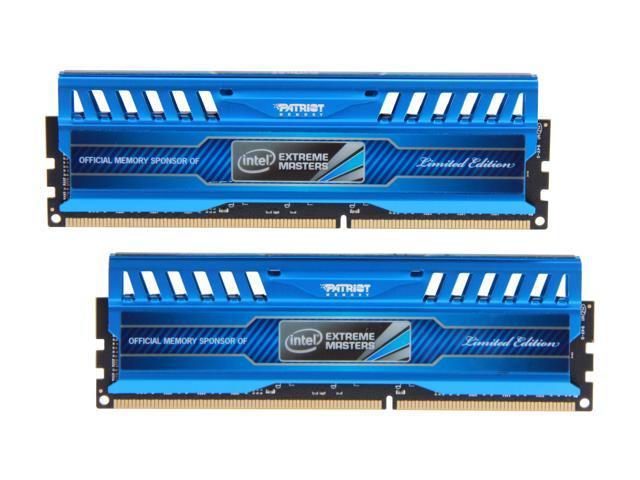 Patriot Intel Extreme Master, Limited Edition 8GB (2 x 4GB) 240-Pin DDR3 SDRAM DDR3 1866 (PC3 15000) Desktop Memory Model PVI38G186C9K
