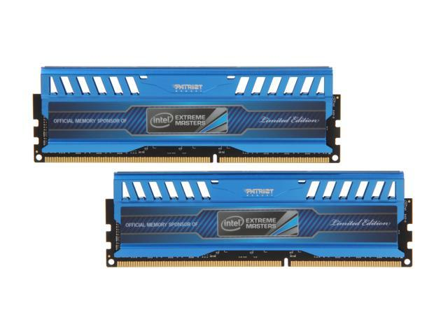 Patriot Intel Extreme Master, Limited Edition 8GB (2 x 4GB) 240-Pin DDR3 SDRAM DDR3 2133 (PC3 17000) Desktop Memory Model PVI38G213C1K